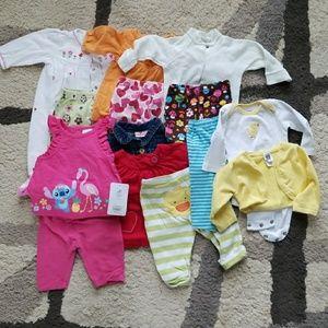 14 6 months pieces bundle